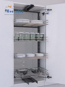F1 Tandem Pantry Pull Out Wire Base 1250600