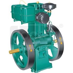 Lister Type Slow Speed Diesel Engines