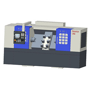 Twin Spindle CNC Machine