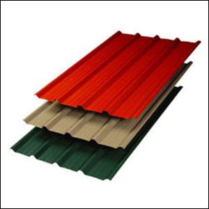 Colour Coated Zinc Profile Sheets