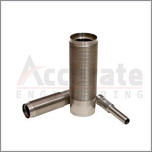 Cylindrical Sensor Housing