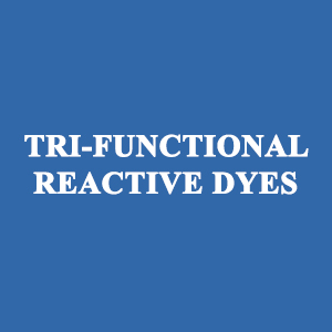 TRI-FUNCTIONAL REACTIVE DYES