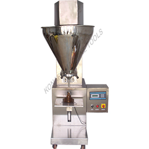 SEMI AUTOMATIC DRY POWDER FILLING MACHINE(Augur Type)