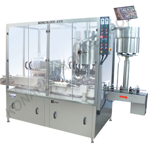 AUTOMATIC FILLING CUM SEALING MACHINE(Monoblock Type)
