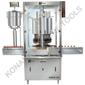 AUTOMATIC MULTIHEAD ROPP / SCREW CAPING MACHINE