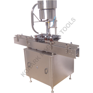 AUTOMATIC SINGLE HEAD DOSING CUP PLACEMENT MACHINE