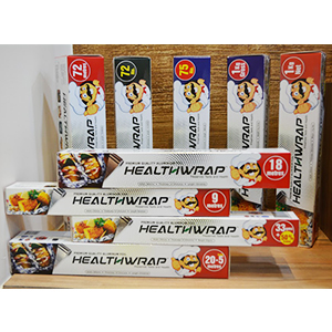 Healthwrap™© Aluminium Foils